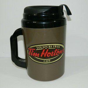 Tim Hortons Coffee 64 oz Jumbo Travel Mug Thermos